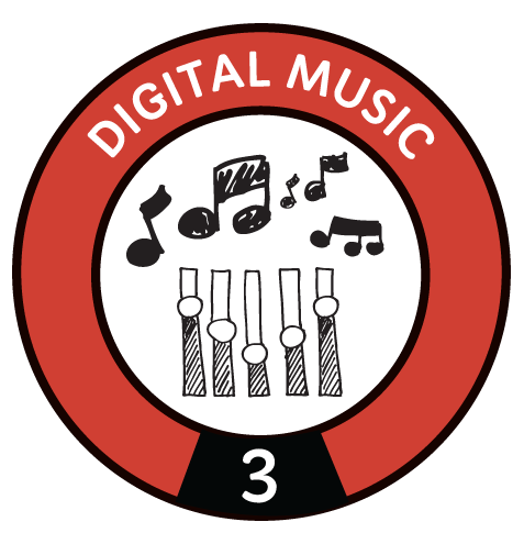 Digital Music Level 3 Badge