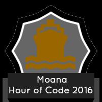 Moana Hour of Code 2016