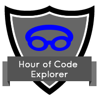 Code60+ Hour of Code Badge