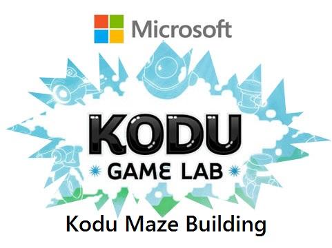 Microsoft Kodu Maze Builder