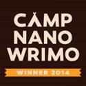 Camp NaNoWriMo Winner