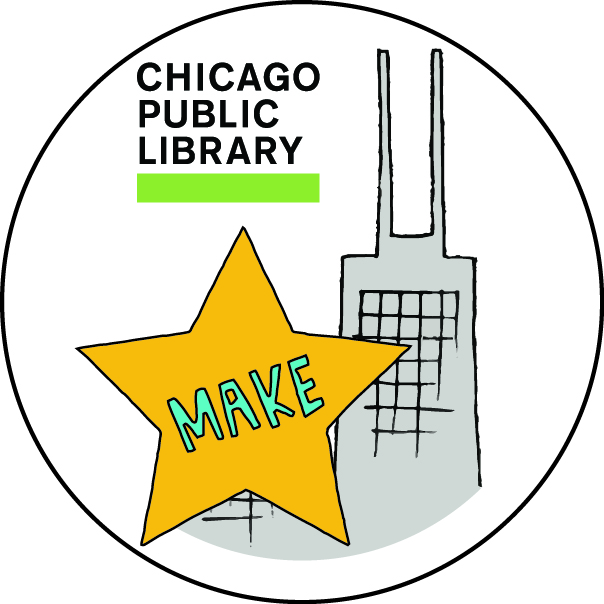 Chicago Public Library Find Your Way MAKE Badge